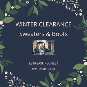 Tops - WINTER CLEARANCE SWEATERS and Such